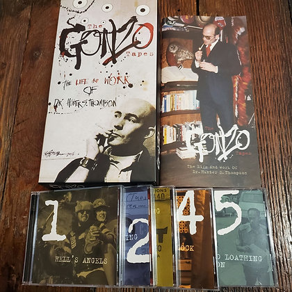 Hunter S Thompson THE GONZO TAPES - Shout Factory 5 CD Box Set