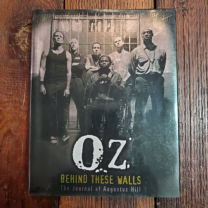 OZ Hardcover Behind These Walls - The Journal of Augustus Hill