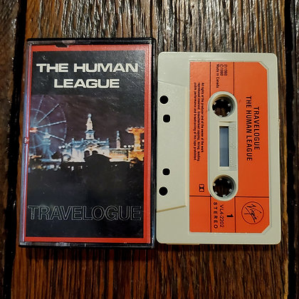 THE HUMAN LEAGUE : Travelogue - 1980 Cassette Tape