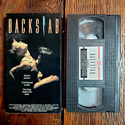 BACKSTAB - Rare VHS