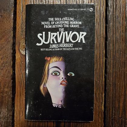 Herbert, James : THE SURVIVOR - Vintage Paperback