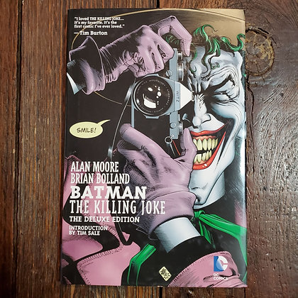 BATMAN The Killing Joke: Alan Moore / Brian Bolland - Hardcover Graphic Novel