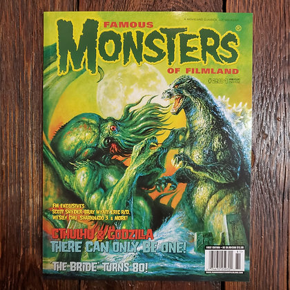 FAMOUS MONSTERS of Filmland - Magazine #281
