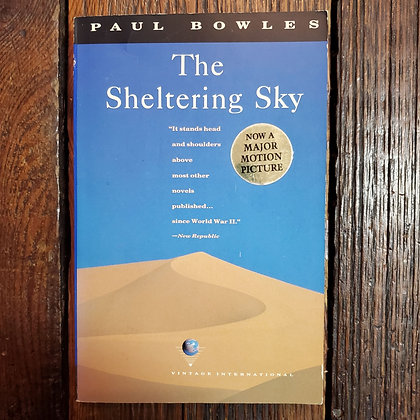 Bowles, Paul : THE SHELTERING SKY - Softcover Book