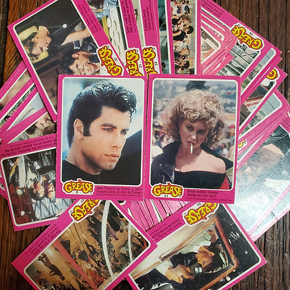 75 x GREASE 1978 Trading Cards