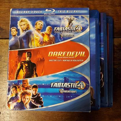 Daredevil / Fantastic 4 - Bluray 3 Pack