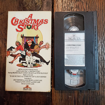 A CHRISTMAS STORY - VHS