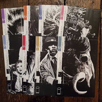 THE BLACK MONDAY MURDERS - #1 to #8 - Comic Book 8 Pack Deal