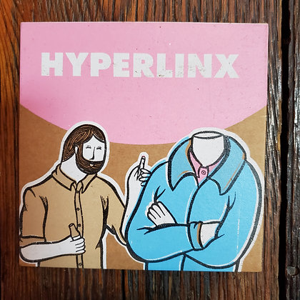 HYPERLINX - CD (Local Hip Hop // Limited to 100 Copies)