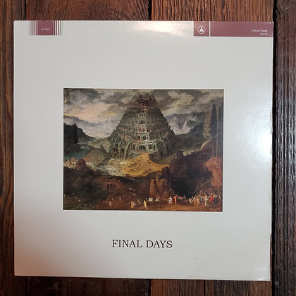 CULT OF YOUTH : Final Days - Vinyl LP