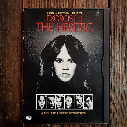 Exorcist II The Heretic DVD