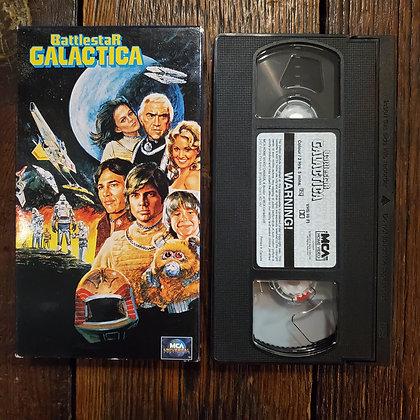 BATTLESTAR GALACTICA - VHS (non rental)