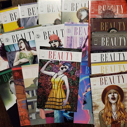 25 issues of THE BEAUTY Comic - (Reader Condition #1 - #25)