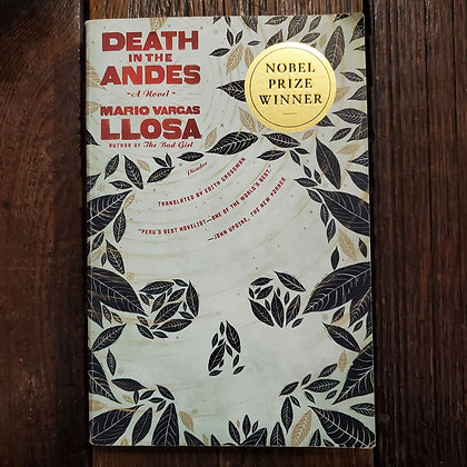 Llosa, Mario Vargas : DEATH IN THE ANDES - Softcover Book
