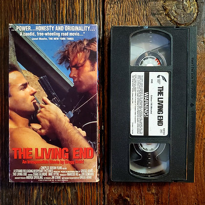 THE LIVING END - Rare VHS