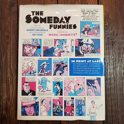 THE SOMEDAY FUNNIES Michel Choquette (Large Hardcover / Damaged Dust jacket)