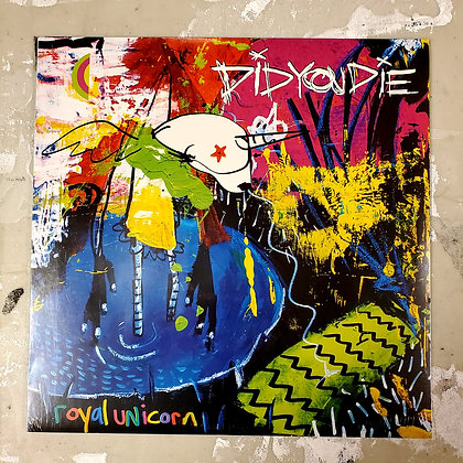 DID YOU DIE : Royal Unicorn - NEW! Local Vinyl LP