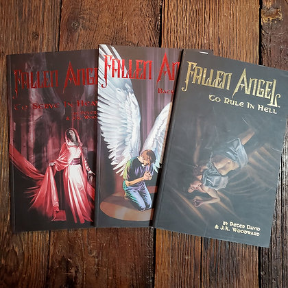 FALLEN ANGEL - Graphic Novel 3 Pack