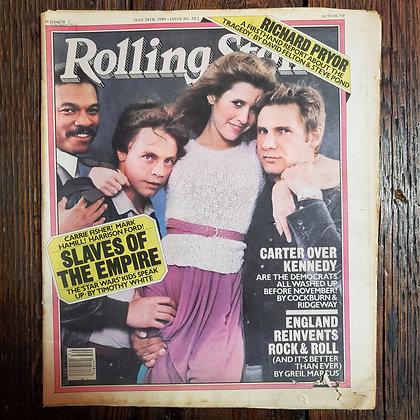 Vintage 1980 ROLLING STONE Magazine #322 - Star Wars (Corner Damage)