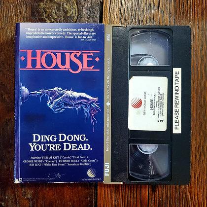 HOUSE - VHS (cut box)