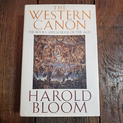 THE WESTERN CANON - Harold Bloom 1st Edition Hardcover