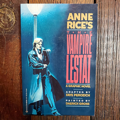 Anne Rice's THE VAMPIRE LESTAT 1991 Graphic Novel