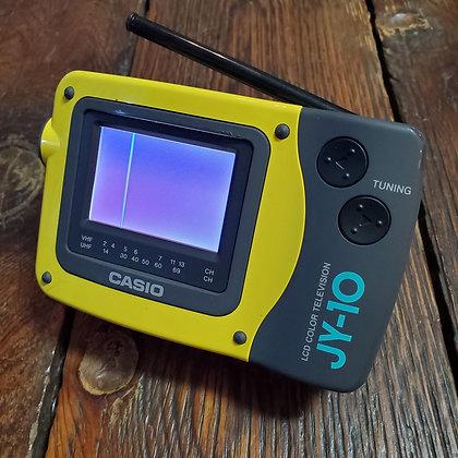Vintage CASIO JY-10 Portable LCD Color TV