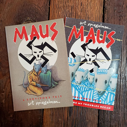 Art Spiegelman's MAUS - Books 1 & 2