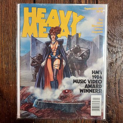 HEAVY METAL Magazine - September 1984
