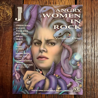 ANGRY WOMEN IN ROCK Volume One - REsearch Book