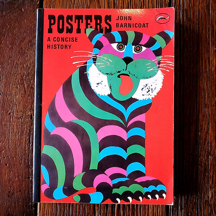 John Barnicoat : POSTERS a Concise History - Softcover Book