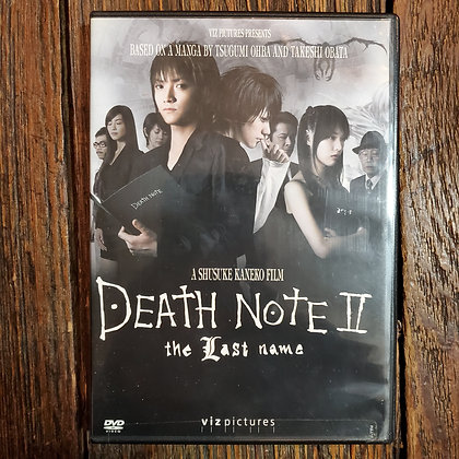 DEATH NOTE II The Last Name DVD