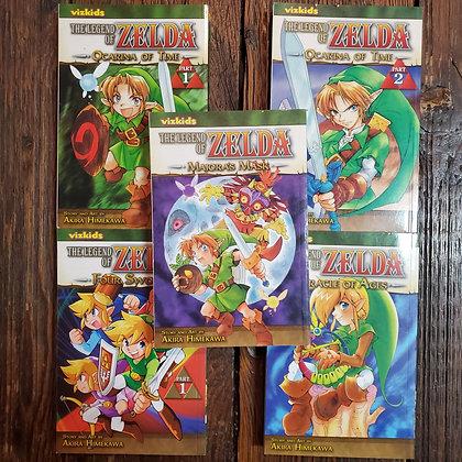 5 copies of Vizkids THE LEGEND OF ZELDA