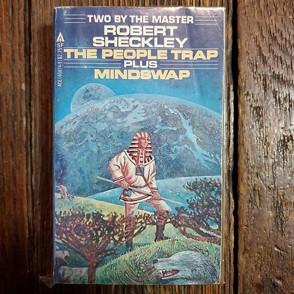 Sheckley, Robert : THE PEOPLE TRAP + MINDSWAP - Vintage Paperback