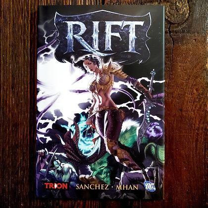 RIFT by Sanchez & Mhan - Hardcover Graphic Novel