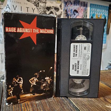 RAGE AGAINST THE MACHINE - VHS