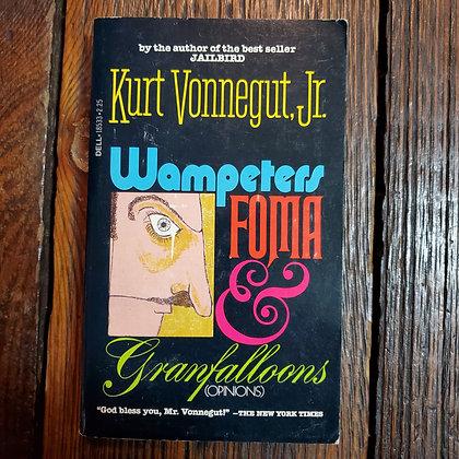 Vonnegut Jr, Kurt : WAMPETERS FOMA & GRANFALLOONS - 1979 Paperback