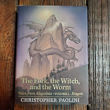 Paolini, Christopher - THE FORK, THE WITCH AND THE WORM (Hardcover)