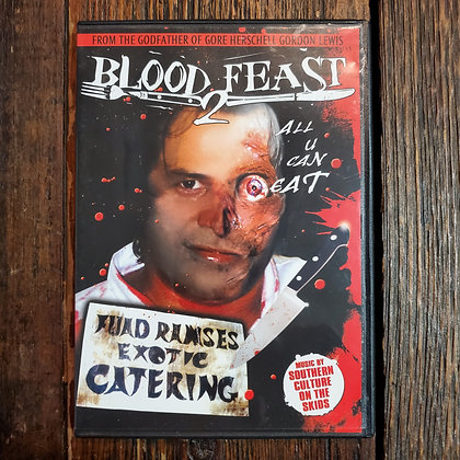BLOOD FEAST 2 ALL YOU CAN EAT DVD