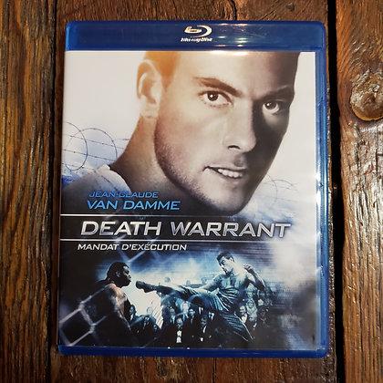 DEATH WARRANT - Van Damme Bluray