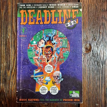 DEADLINE USA #2 Comic 1991