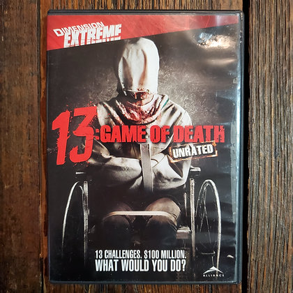 13 GAME OF DEATH DVD