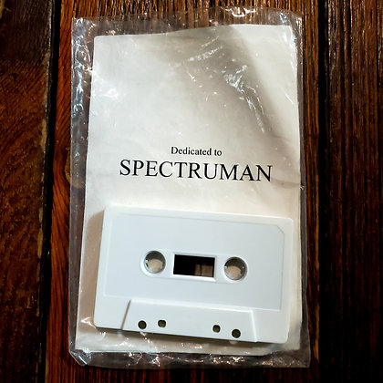 THIRDORGAN : Dedicated to Spectruman - Cassette Tape (1998)