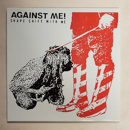 AGAINST ME! Shape Shift With Me - White Vinyl LP