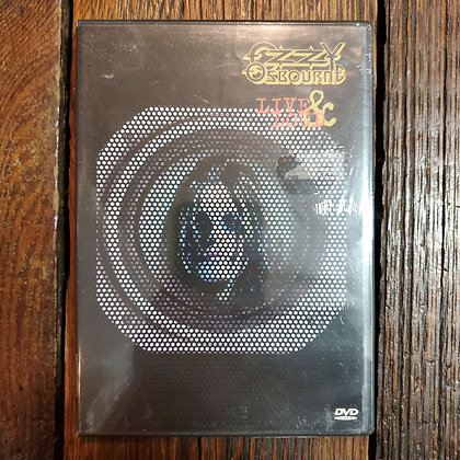 OZZY OSBOURNE : Live & Loud - DVD