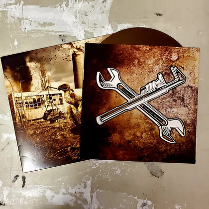 EARTH CRISIS : Neutralize The Threat - GOLD Vinyl LP (Ltd. 500 Copies)