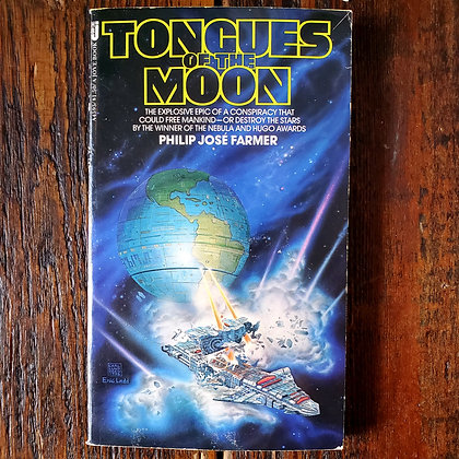 Farmer, Philip Jose : TONGUES OF THE MOON - Paperback Book