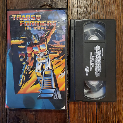 TRANSFORMERS THE MOVIE - VHS
