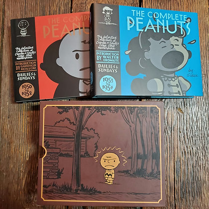 THE COMPLETE PEANUTS (1950 to 1954) Charles M. Schulz - Hardcover Box Set