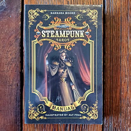 Moore, Barbara : THE STEAMPUNK TAROT - Softcover Book